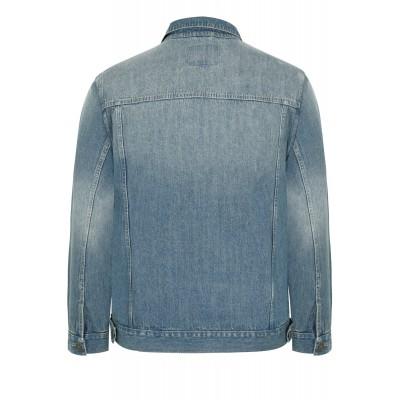 Kék Denim kabát