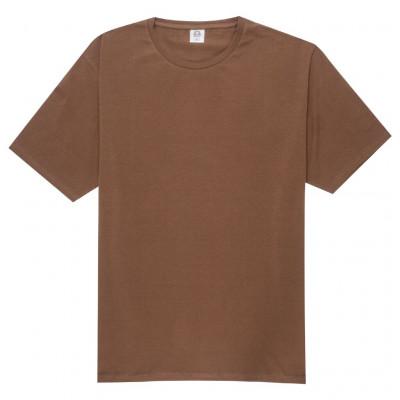 Barna elasztán póló